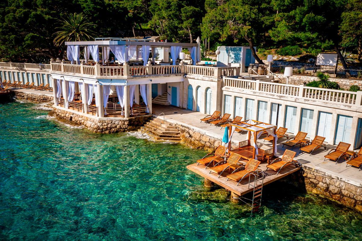 Beachclub als Hochzeitslocation für Hochzeit in Kroatien