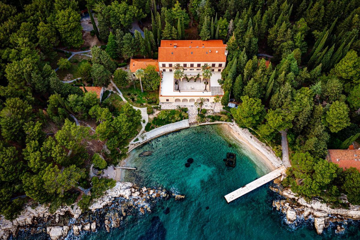 Villa direkt am Meer in Kroatien