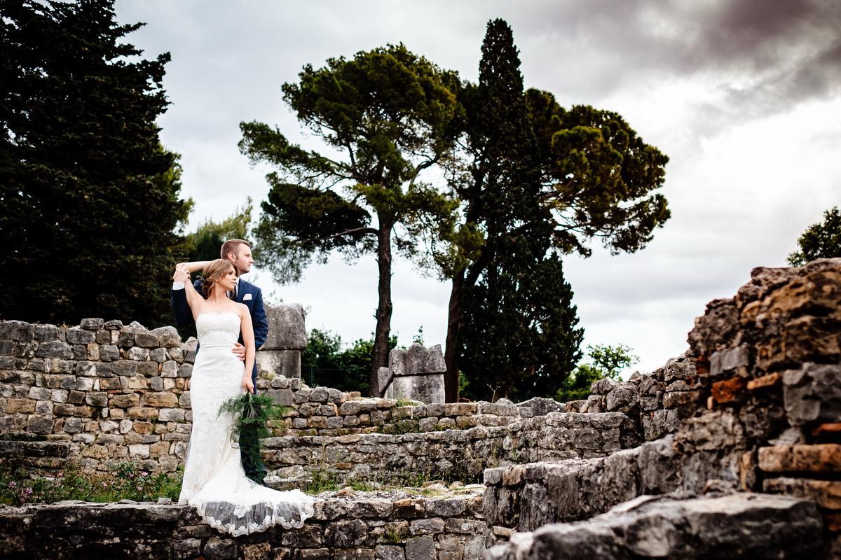 hochzeit kroatien heiraten boutique hotel ruine trauung 04 - Hochzeit in Dubrovnik