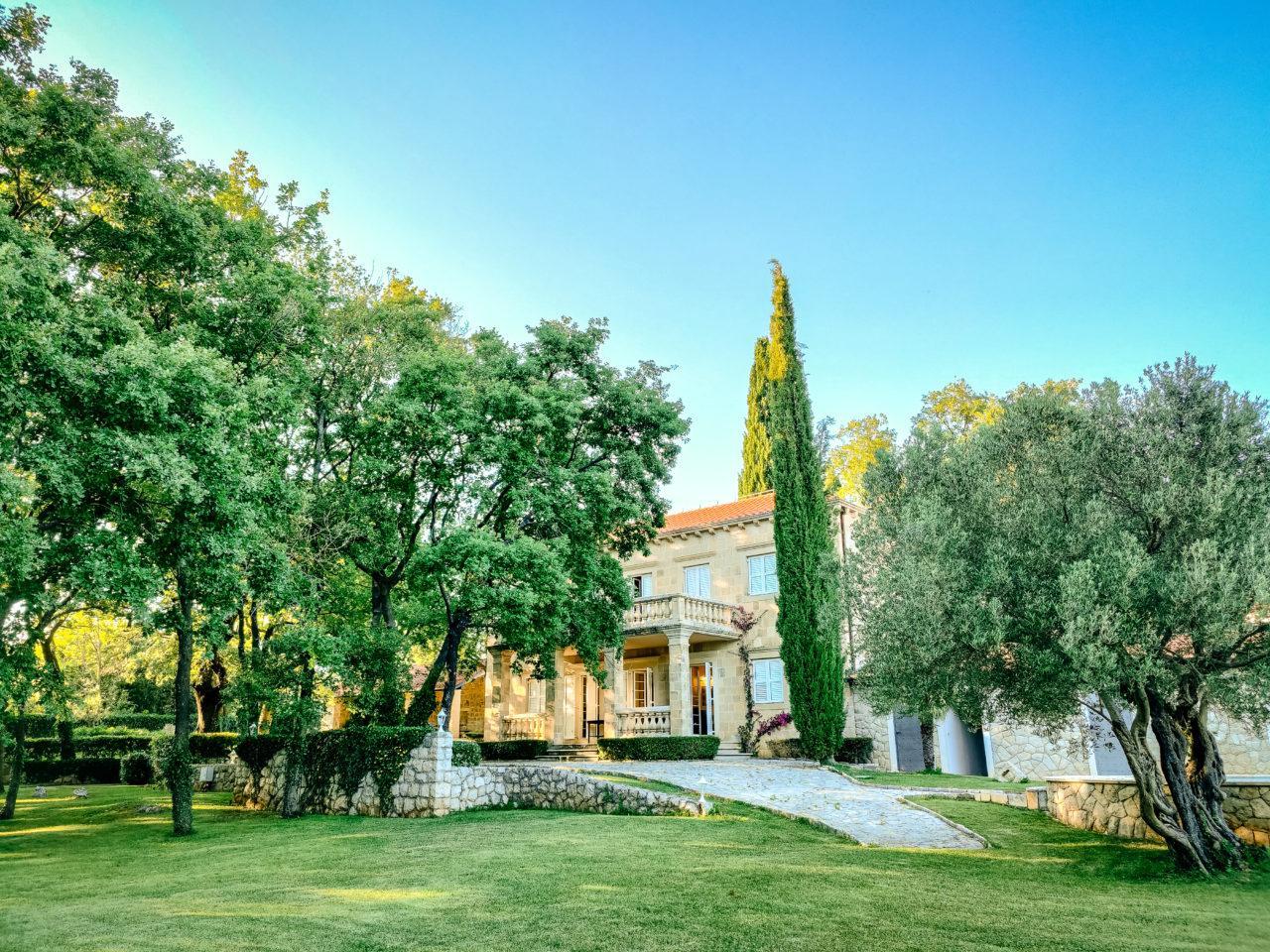 Hochzeit in der Villa Terezia Heiraten Hochzeitslocation Location in Kroatien toller Gaten Dalmatien