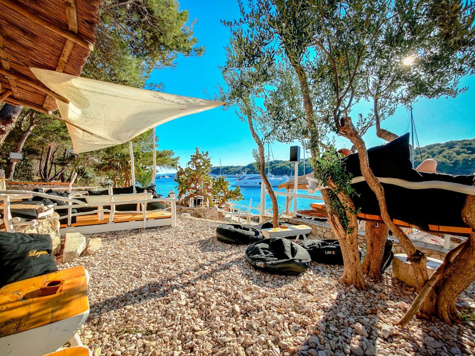 Hochzeit im Beachclub Langnini Heiraten Hochzeitslocation Location in Kroatien am Meer