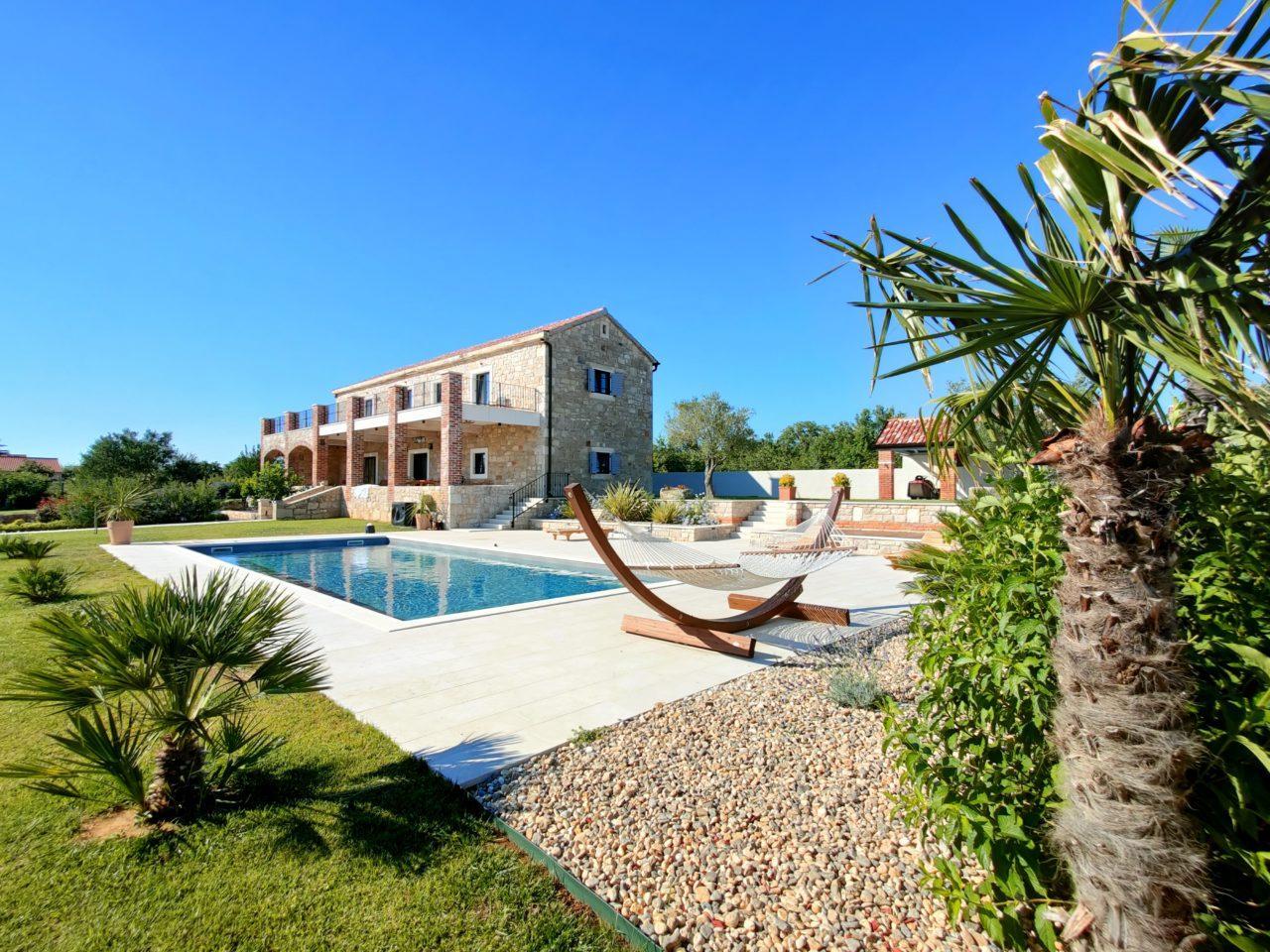 Hochzeit in der Villa Emilio Heiraten Hochzeitslocation Location in Kroatien Luxuriös mit Pool