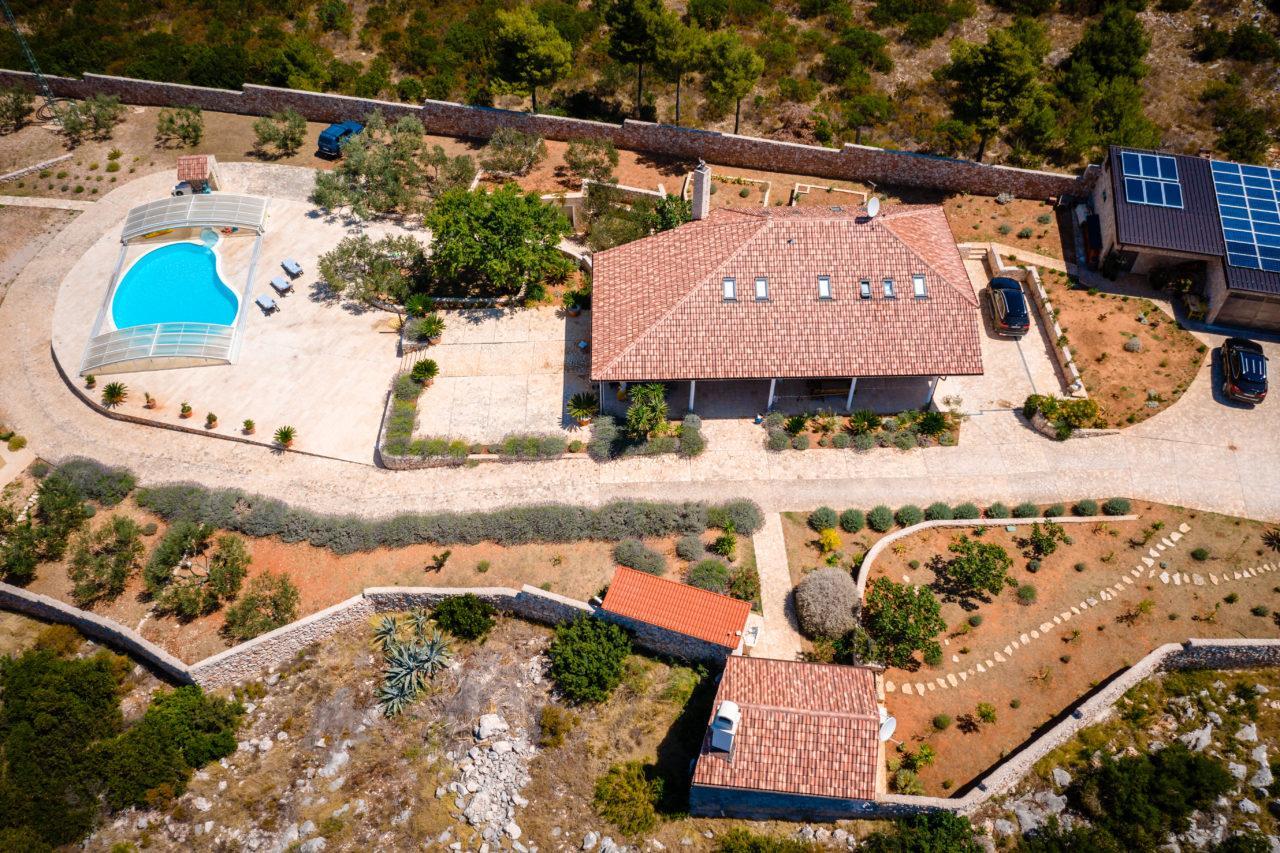 Hochzeit in der Villa Pinus Heiraten Hochzeitslocation Location in Kroatien Blick aufs Meer