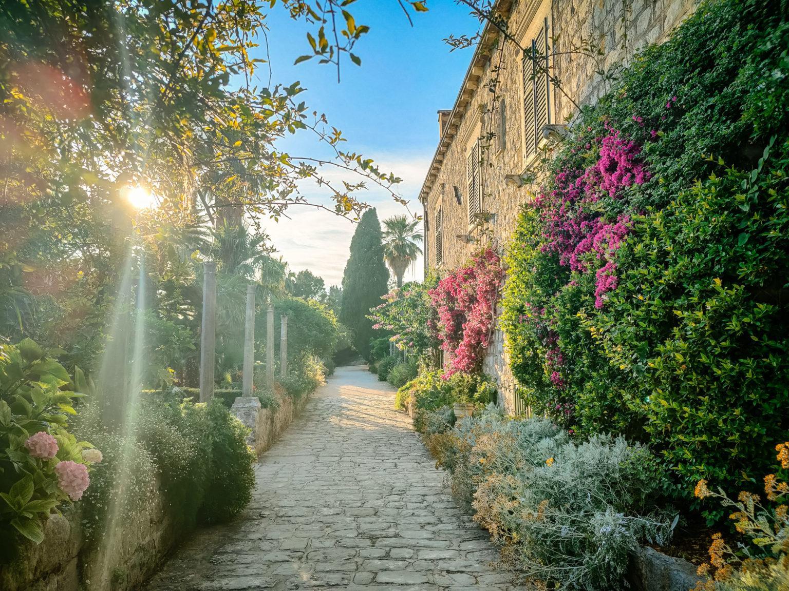 hochzeitslocation Kroatien location hochzeit heiraten 6 9 scaled - Historische Gärten