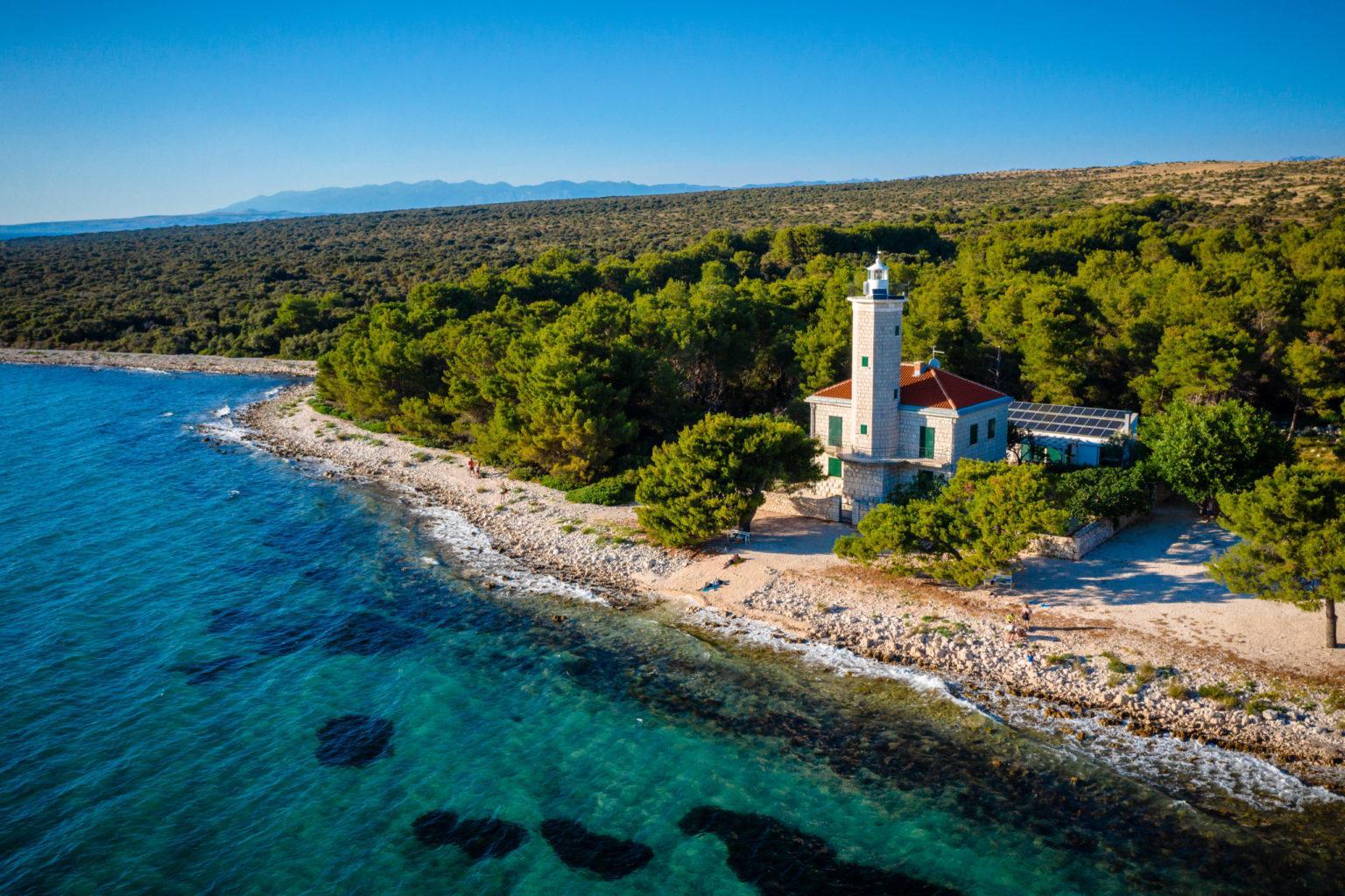 Hochzeit am Leuchtturm Heiraten Hochzeitslocation Location in Kroatien am Meer