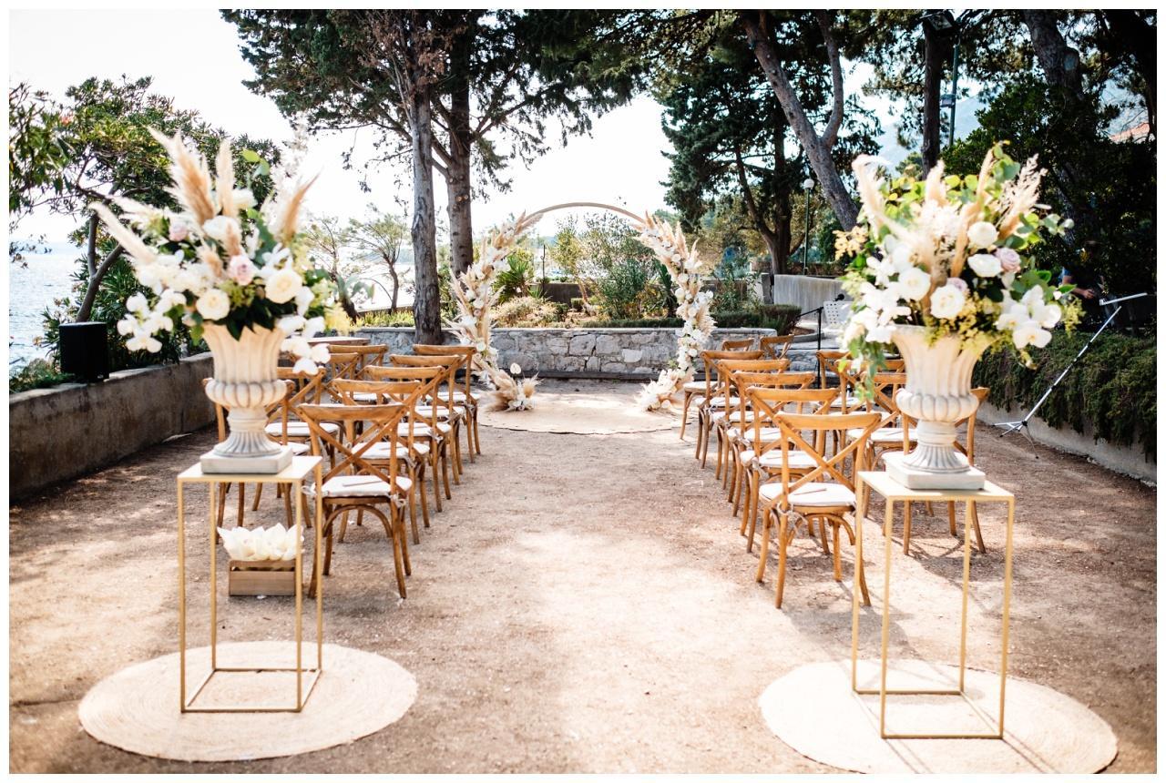 hochzeit brac inse boho heiraten kroatien hochzeitsplaner 19 - Glam Boho Hochzeit auf der Insel Brač