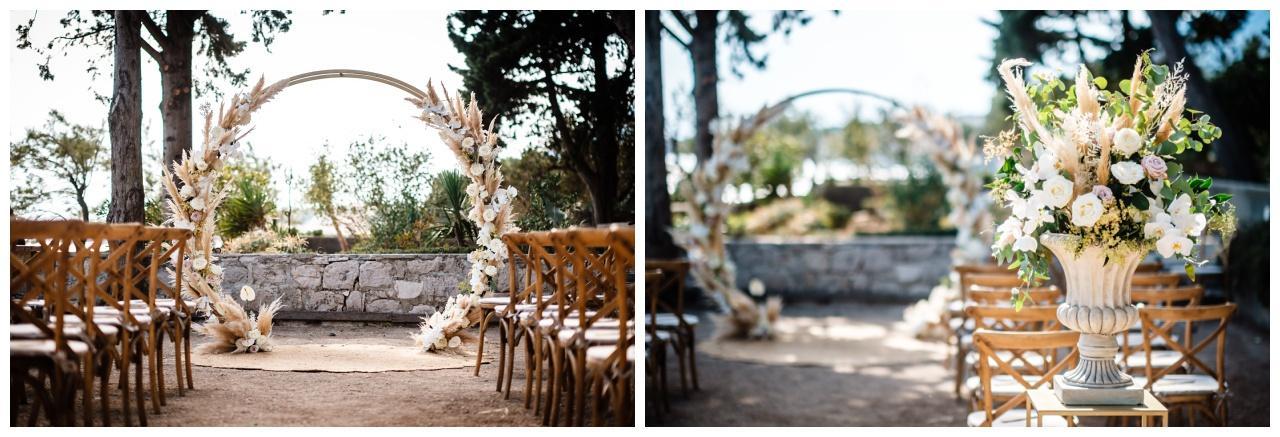 hochzeit brac inse boho heiraten kroatien hochzeitsplaner 21 - Glam Boho Hochzeit auf der Insel Brač
