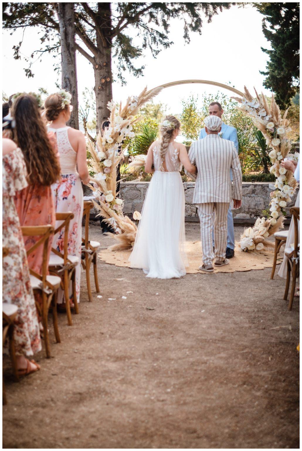 hochzeit brac inse boho heiraten kroatien hochzeitsplaner 28 - Glam Boho Hochzeit auf der Insel Brač
