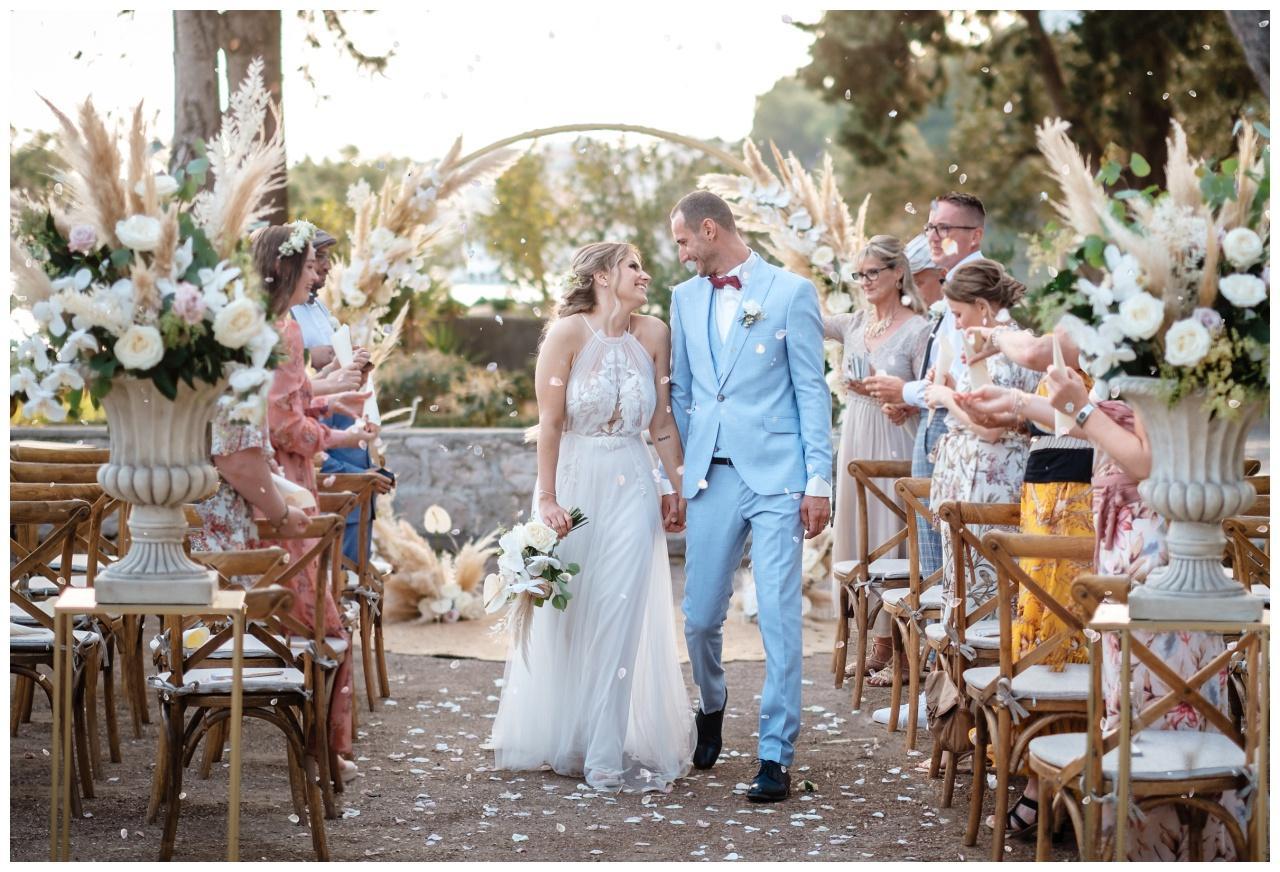 Hochzeit auf der Insel Brač Kroatien Hochzeitsplaner Hochzeitsplanung Hochzeitsplanerin Heiraten Brac