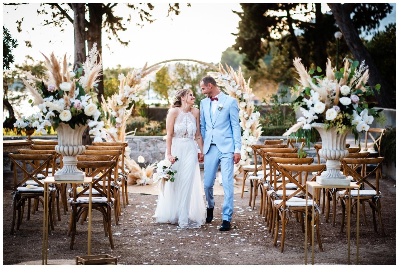 hochzeit brac inse boho heiraten kroatien hochzeitsplaner 43 - Glam Boho Hochzeit auf der Insel Brač