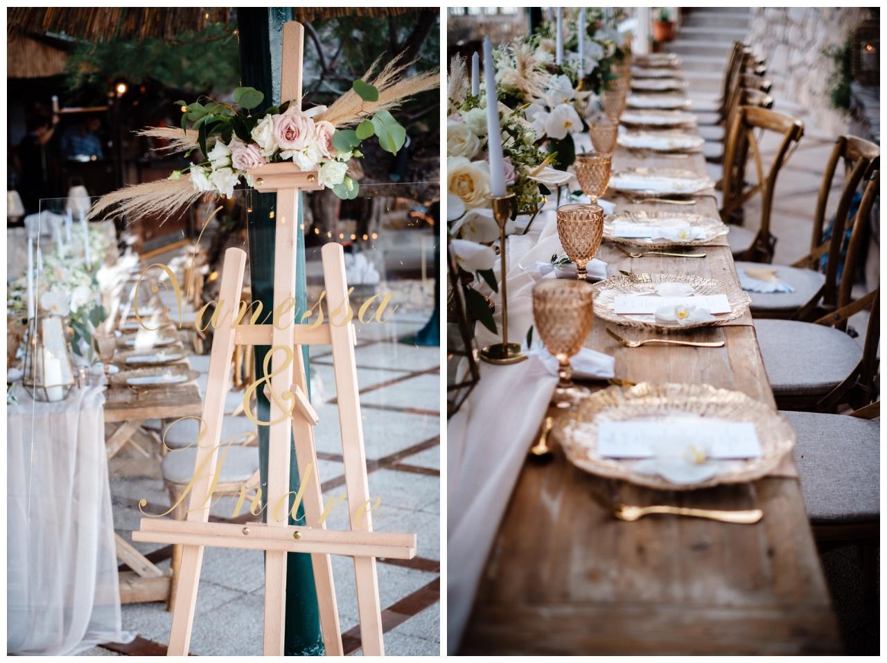 hochzeit brac inse boho heiraten kroatien hochzeitsplaner 56 - Glam Boho Hochzeit auf der Insel Brač
