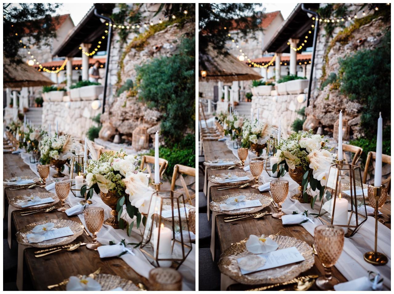 hochzeit brac inse boho heiraten kroatien hochzeitsplaner 61 - Glam Boho Hochzeit auf der Insel Brač