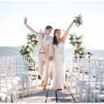 Hochzeit in einer alten Villa in Kroatien am Meer