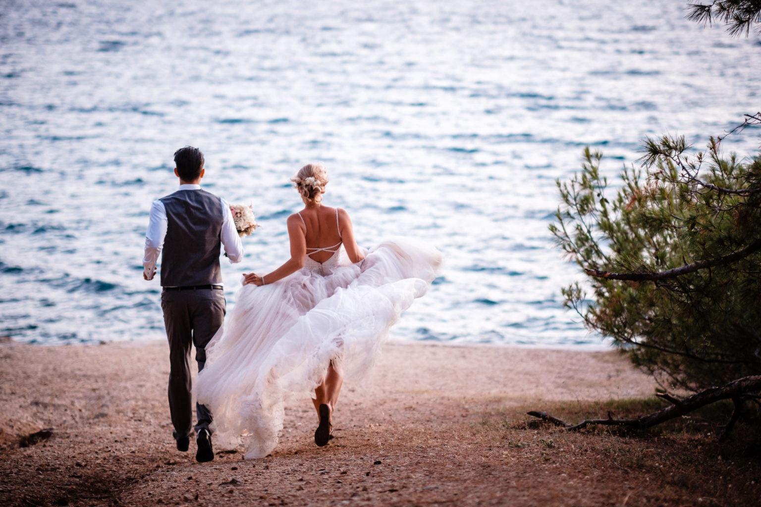 Hochzeit zu zweit Kroatien Elopement