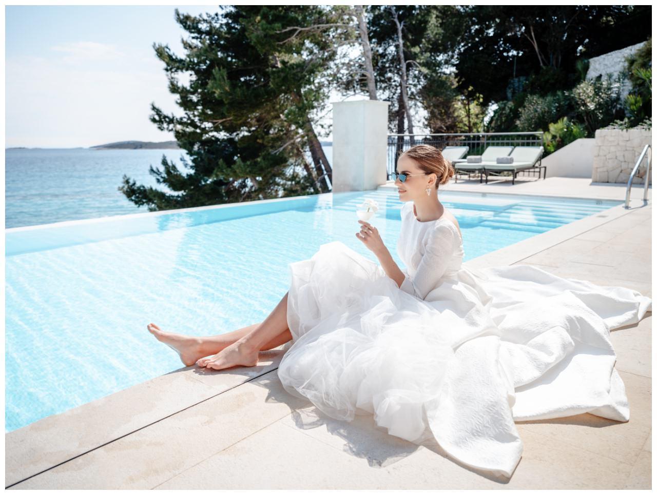 Hochzeit Kroatien Hochzeitsplanung Hochzeitsplaner Fotograf 1 - Luxuriöse Hochzeit in Weiß