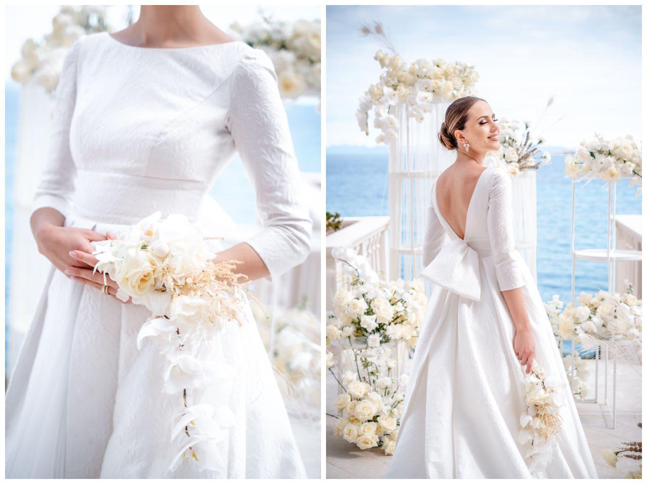 Hochzeit Kroatien Hochzeitsplanung Hochzeitsplaner Fotograf 11 - Luxuriöse Hochzeit in Weiß