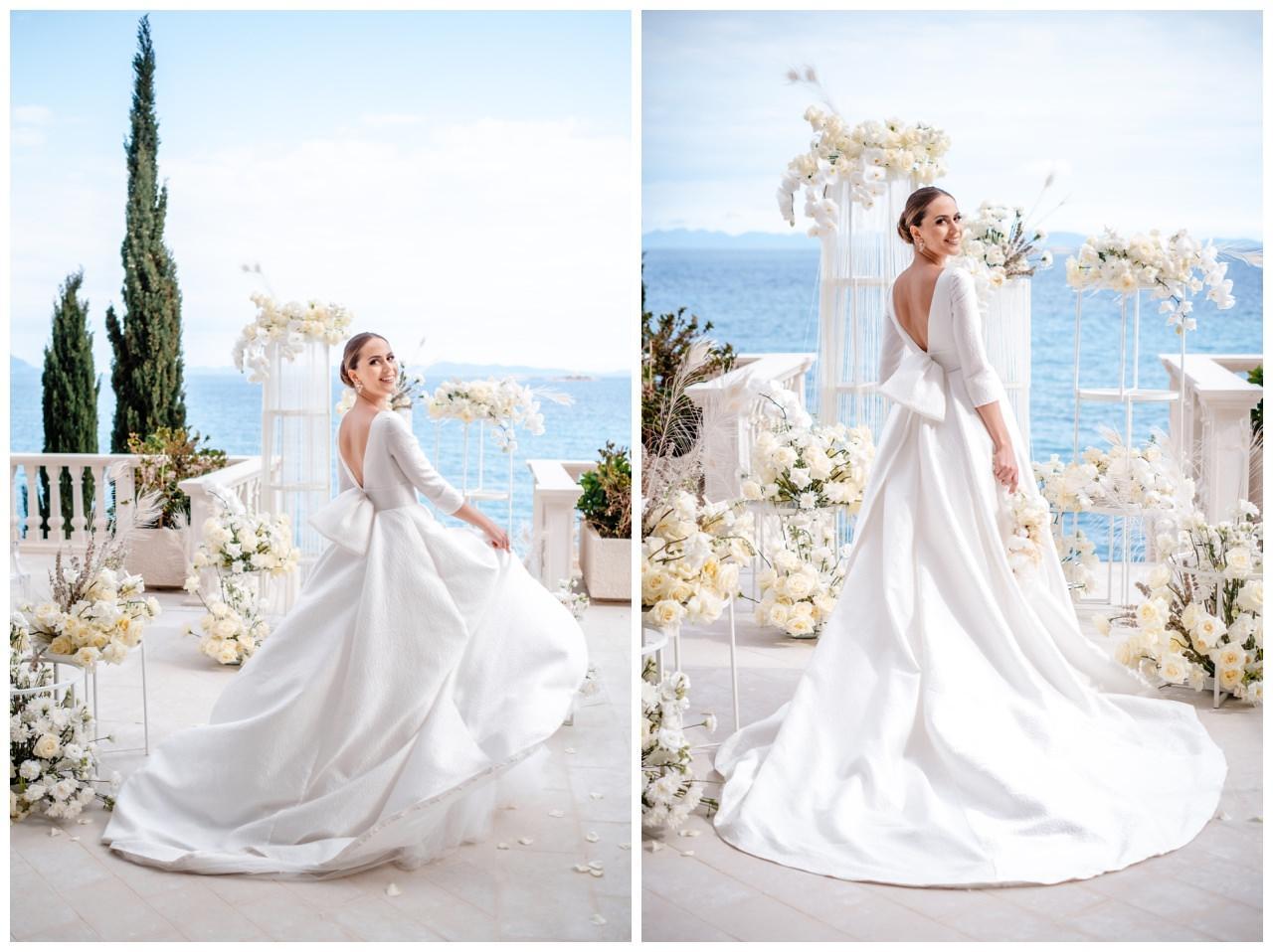 Hochzeit Kroatien Hochzeitsplanung Hochzeitsplaner Fotograf 14 - Luxuriöse Hochzeit in Weiß