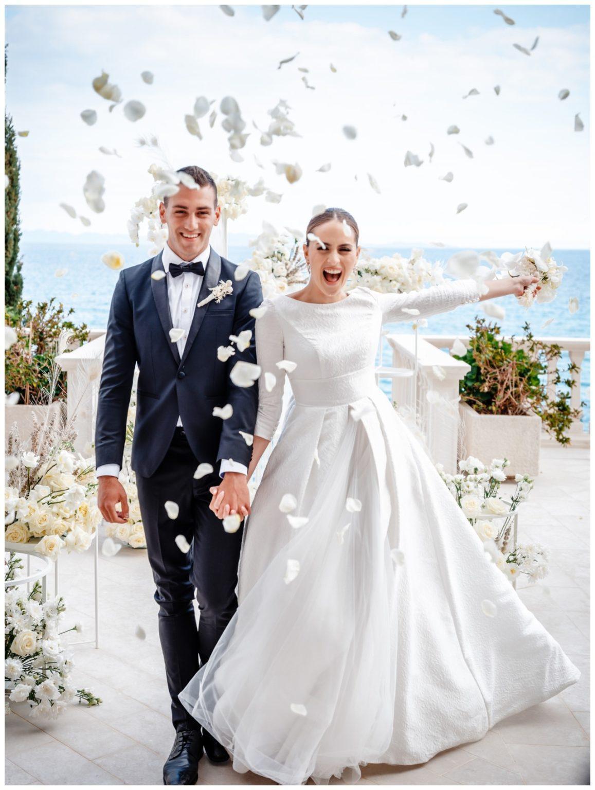 Hochzeit Kroatien Hochzeitsplanung Hochzeitsplaner Fotograf 15 - Luxuriöse Hochzeit in Weiß