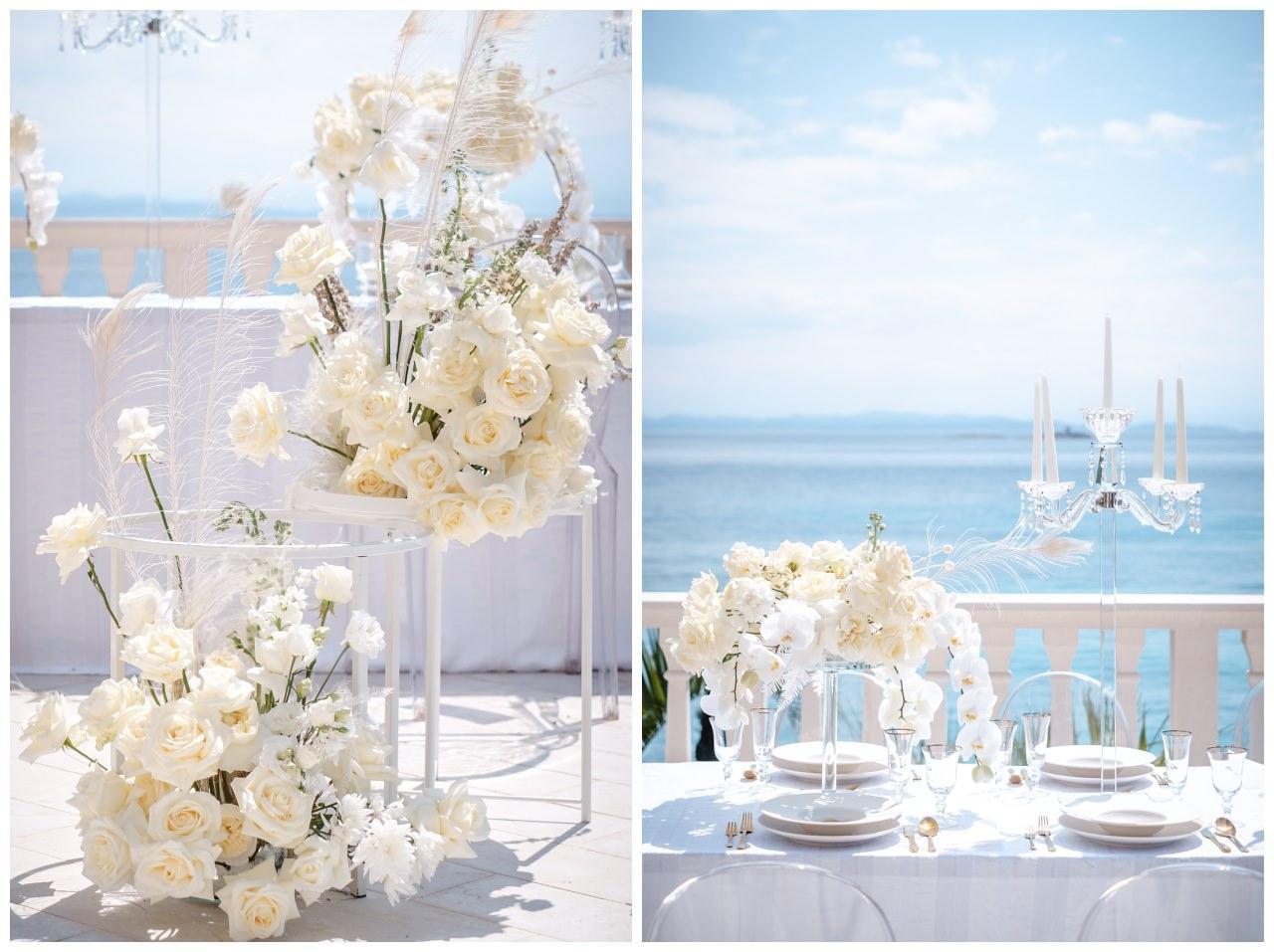 Hochzeit Kroatien Hochzeitsplanung Hochzeitsplaner Fotograf 19 - Luxuriöse Hochzeit in Weiß