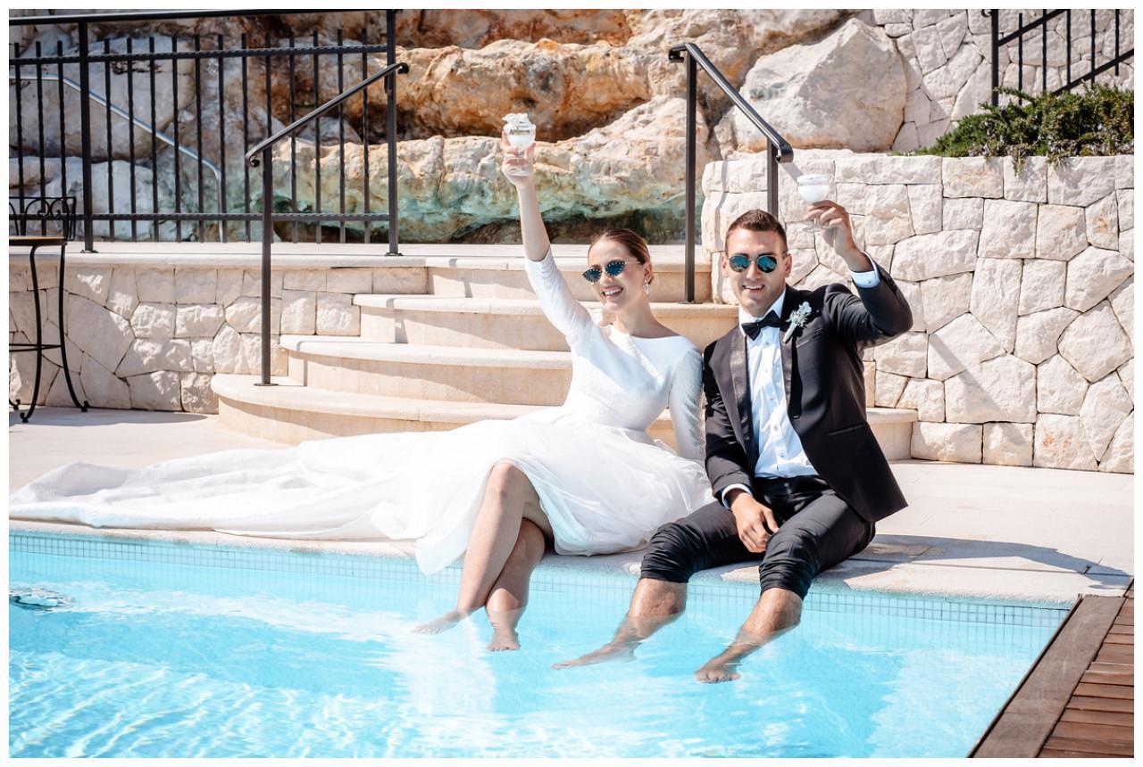 Hochzeit Kroatien Hochzeitsplanung Hochzeitsplaner Fotograf 2 - Luxuriöse Hochzeit in Weiß