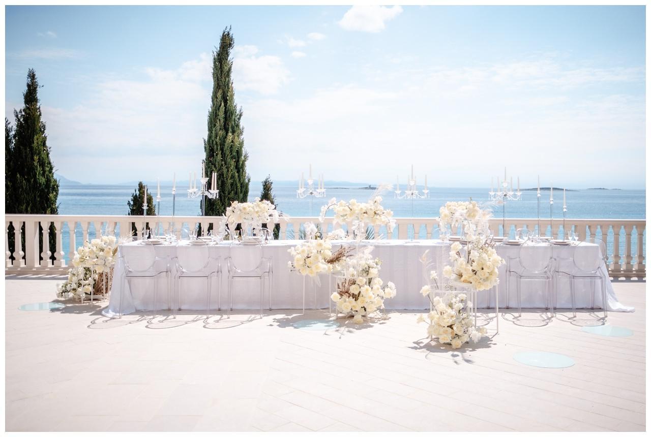 Hochzeit Kroatien Hochzeitsplanung Hochzeitsplaner Fotograf 22 - Luxuriöse Hochzeit in Weiß