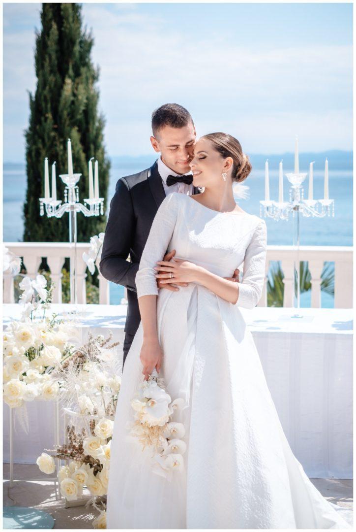 Hochzeit Kroatien Hochzeitsplanung Hochzeitsplaner Fotograf 26 - Luxuriöse Hochzeit in Weiß