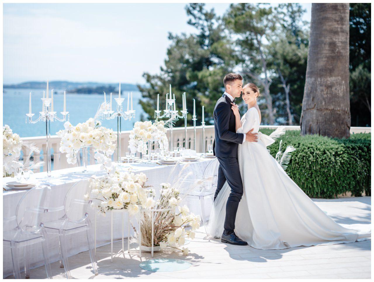 Hochzeit Kroatien Hochzeitsplanung Hochzeitsplaner Fotograf 27 - Luxuriöse Hochzeit in Weiß