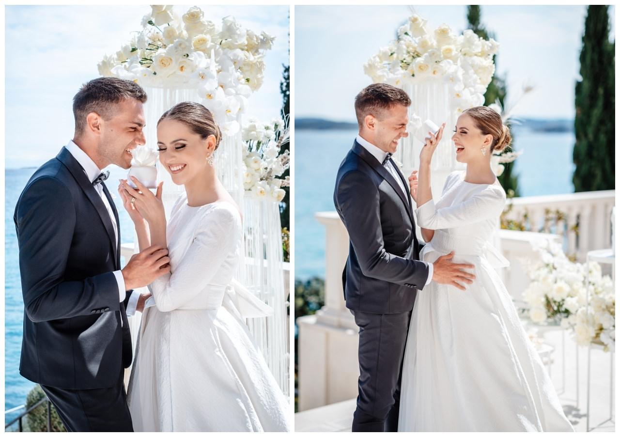 Hochzeit Kroatien Hochzeitsplanung Hochzeitsplaner Fotograf 28 - Luxuriöse Hochzeit in Weiß
