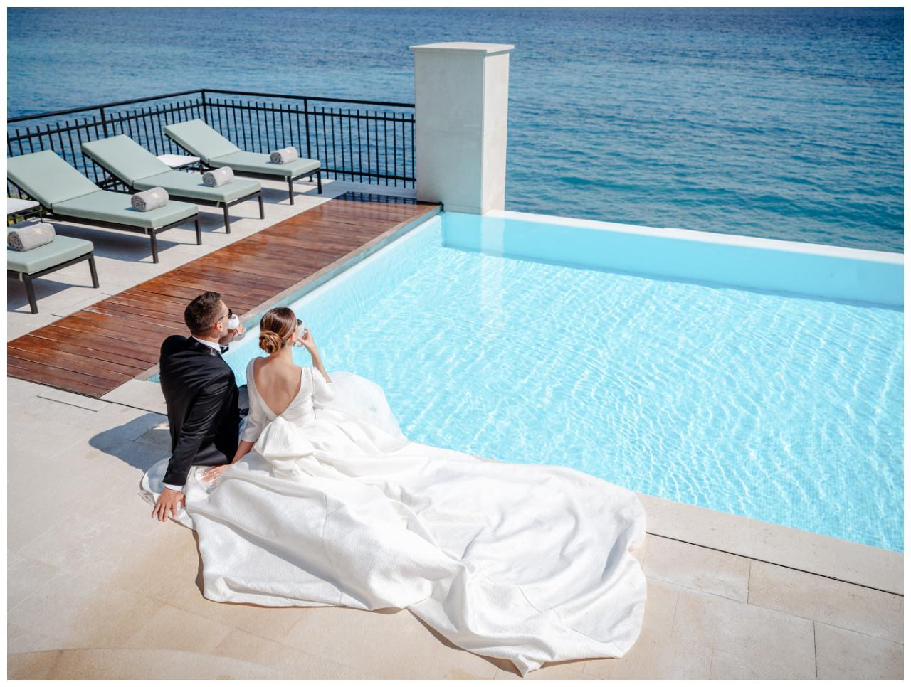 Hochzeit Kroatien Hochzeitsplanung Hochzeitsplaner Fotograf 3 - Luxuriöse Hochzeit in Weiß