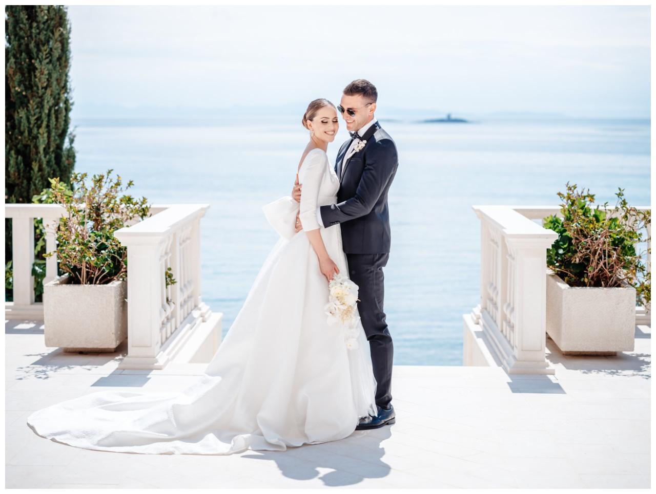 Hochzeit Kroatien Hochzeitsplanung Hochzeitsplaner Fotograf 30 - Luxuriöse Hochzeit in Weiß