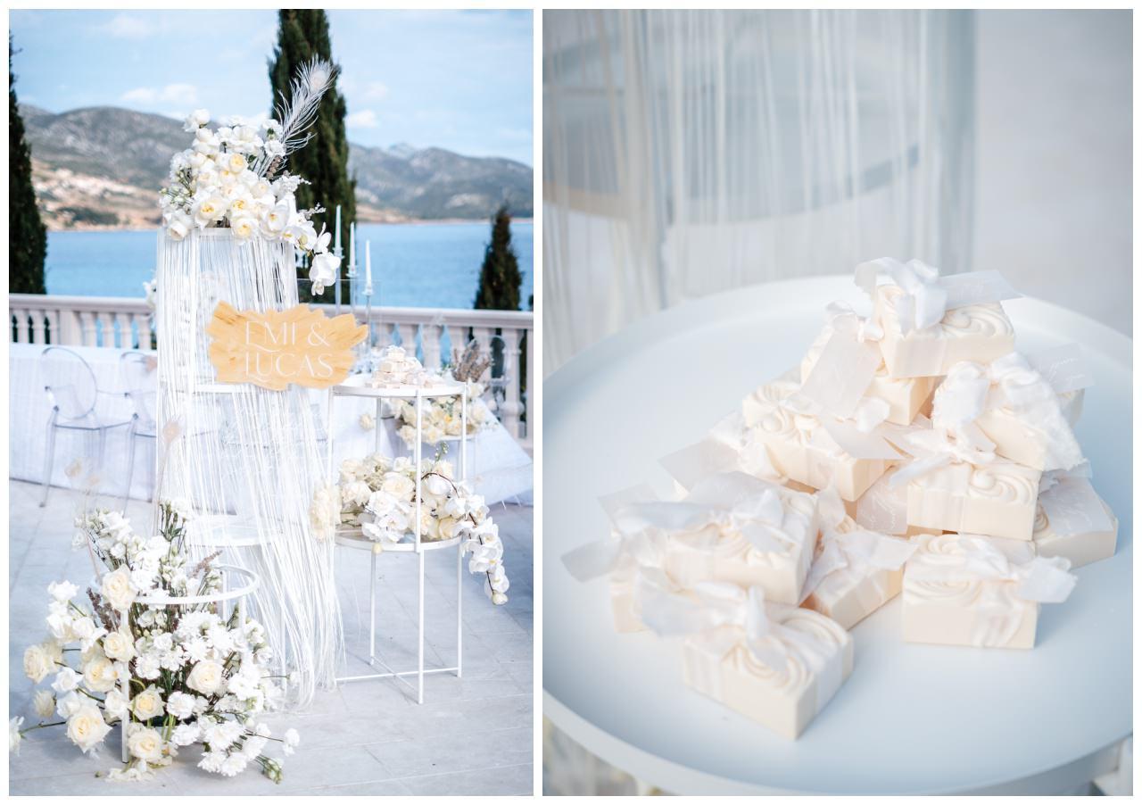 Hochzeit Kroatien Hochzeitsplanung Hochzeitsplaner Fotograf 6 - Luxuriöse Hochzeit in Weiß