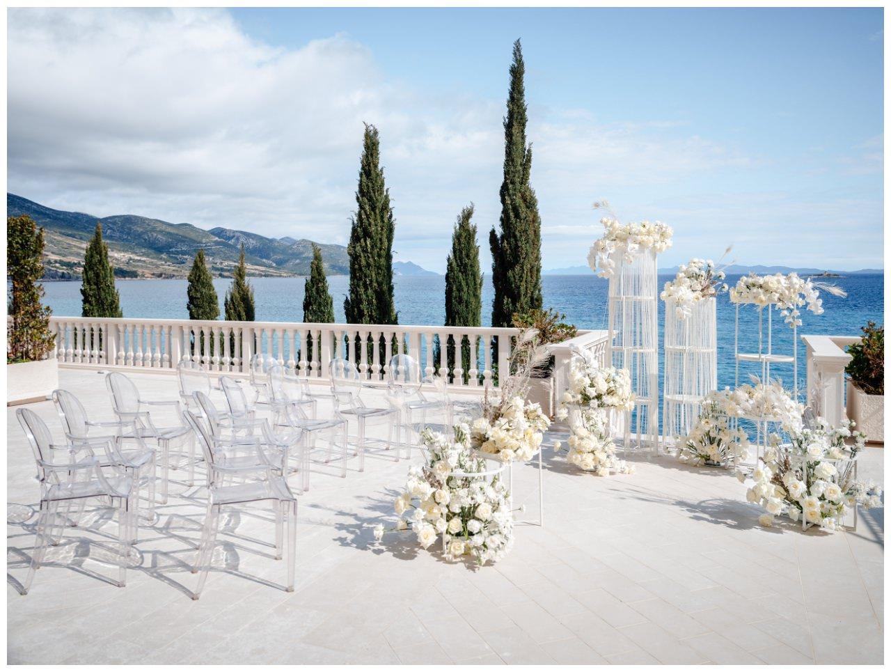 Hochzeit Kroatien Hochzeitsplanung Hochzeitsplaner Fotograf 7 - Luxuriöse Hochzeit in Weiß