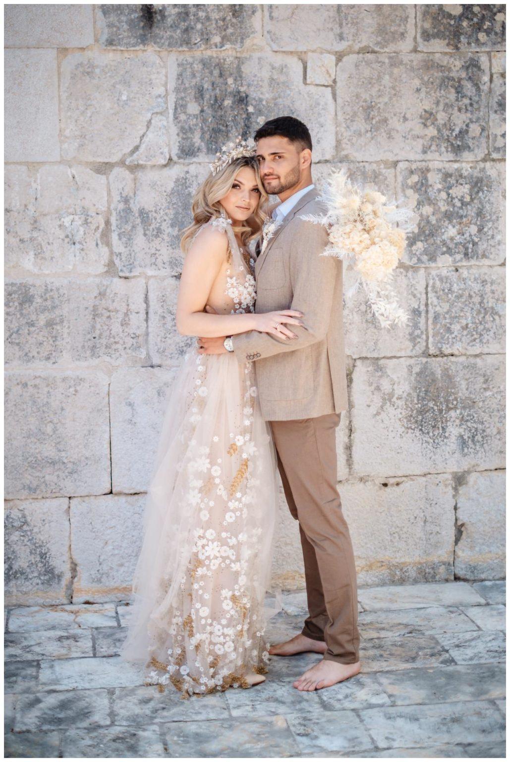 Hochzeit Kroatien Planung Hochzeitsplaner Trockenblumen Fotograf 1 - Natürliche Hochzeit mit Trockenblumen
