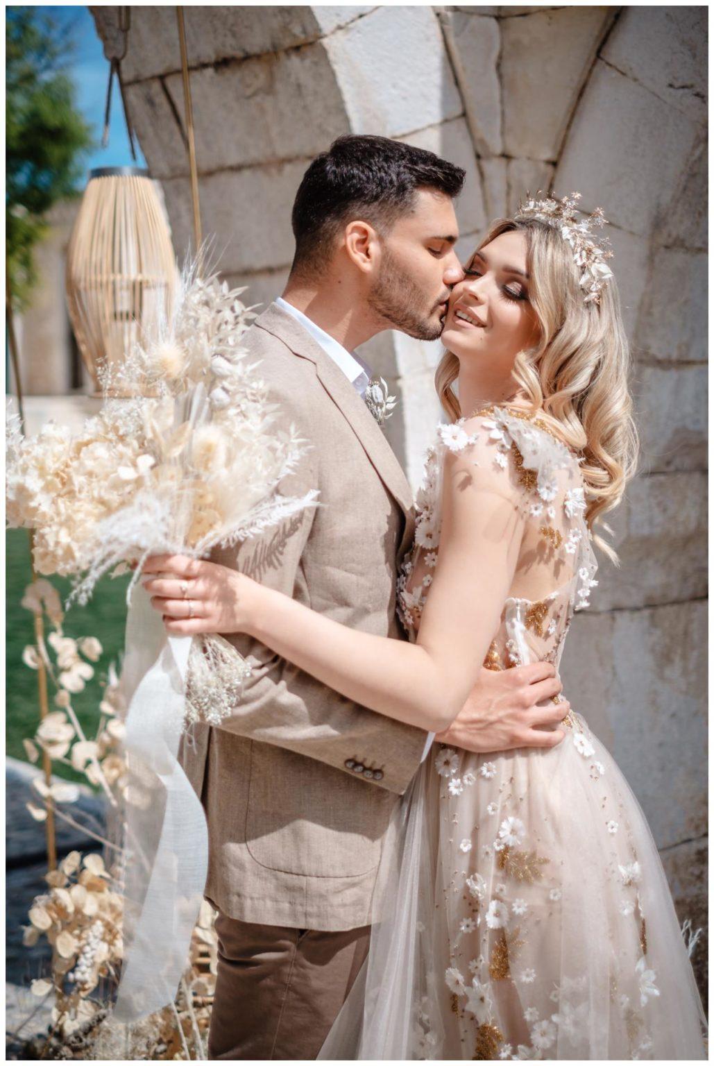 Hochzeit Kroatien Planung Hochzeitsplaner Trockenblumen Fotograf 10 - Natürliche Hochzeit mit Trockenblumen