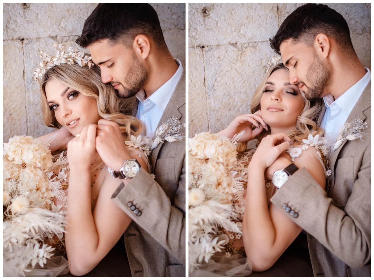 Hochzeit Kroatien Planung Hochzeitsplaner Trockenblumen Fotograf 2 - Natürliche Hochzeit mit Trockenblumen