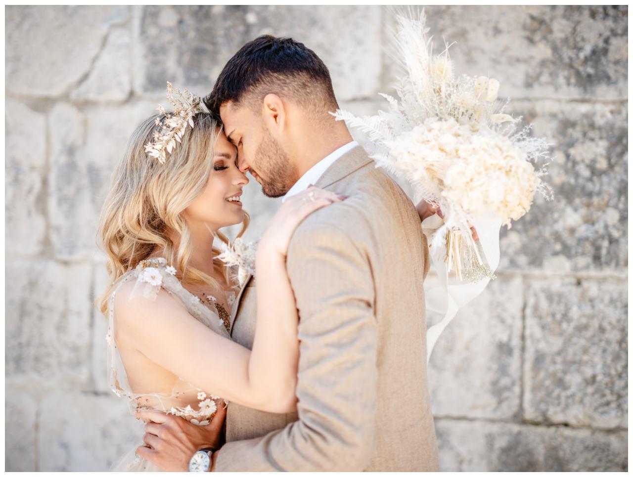Hochzeit Kroatien Planung Hochzeitsplaner Trockenblumen Fotograf 33 - Natürliche Hochzeit mit Trockenblumen