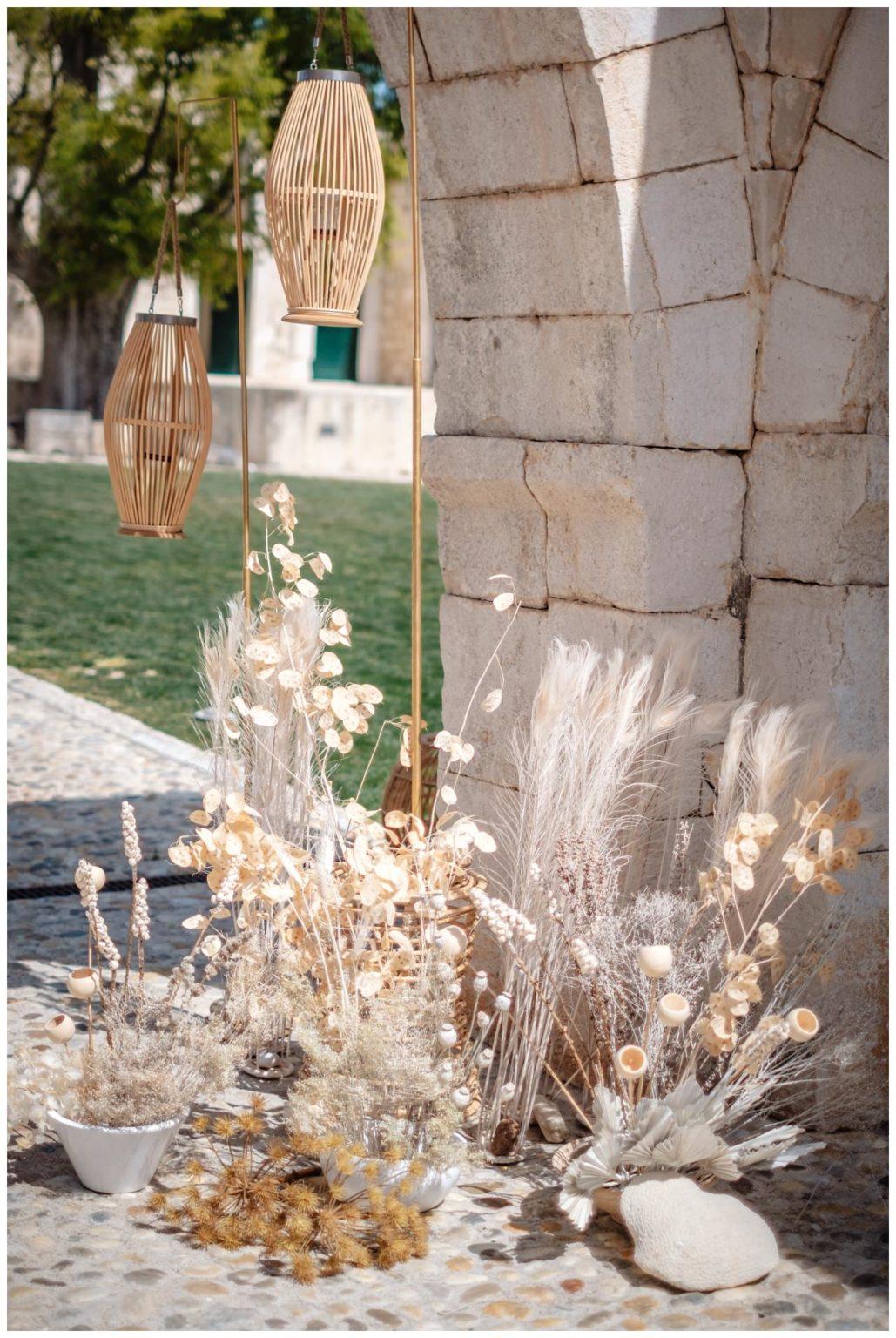 Hochzeit Kroatien Planung Hochzeitsplaner Trockenblumen Fotograf 7 - Natürliche Hochzeit mit Trockenblumen