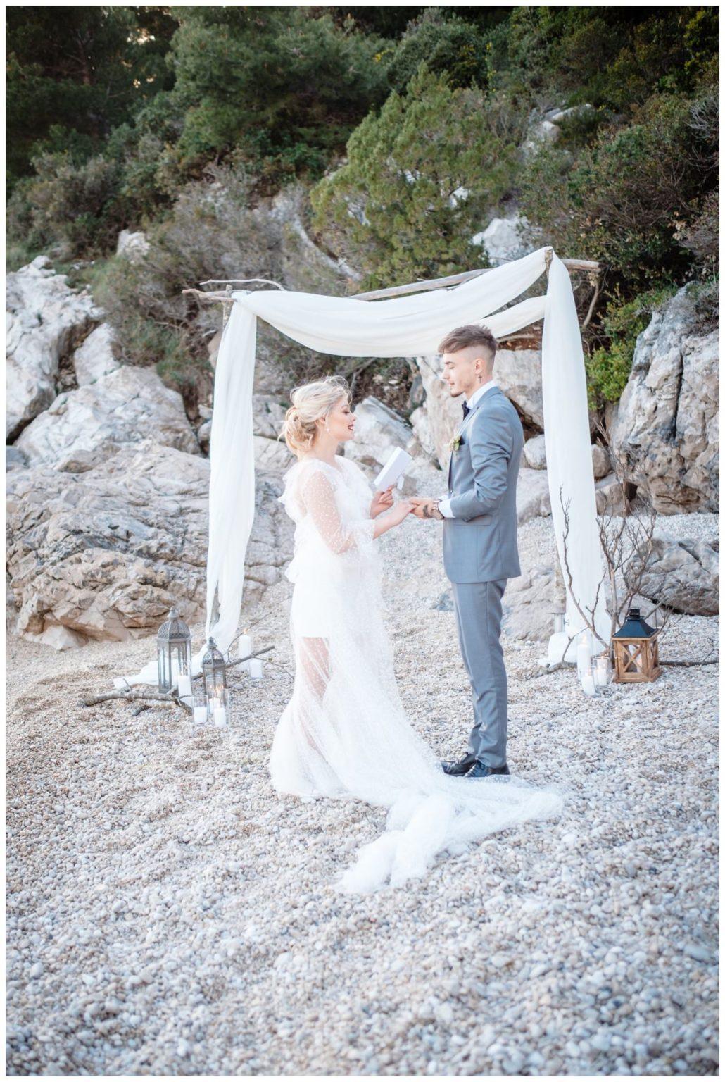 Hochzeit Strand Kroatien Hochzetsplanung Hochzeitsplaner Fotograf 10 - Kleine Hochzeit am Strand