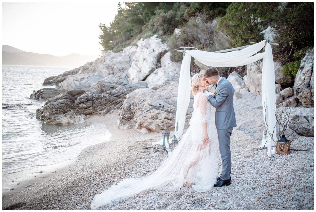 Hochzeit Strand Kroatien Hochzetsplanung Hochzeitsplaner Fotograf 13 - Kleine Hochzeit am Strand
