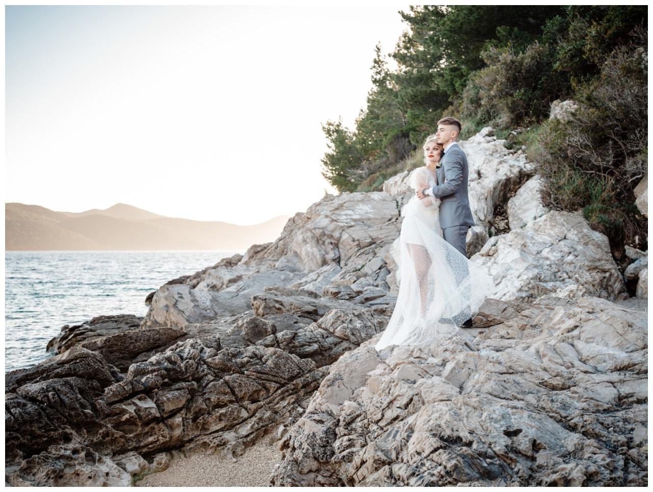 Hochzeit Strand Kroatien Hochzetsplanung Hochzeitsplaner Fotograf 16 - Kleine Hochzeit am Strand