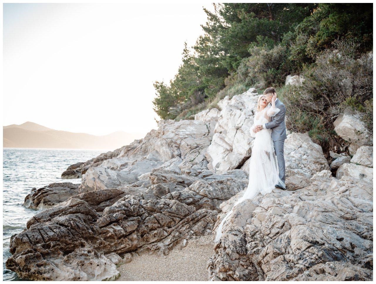 Hochzeit Strand Kroatien Hochzetsplanung Hochzeitsplaner Fotograf 17 - Kleine Hochzeit am Strand