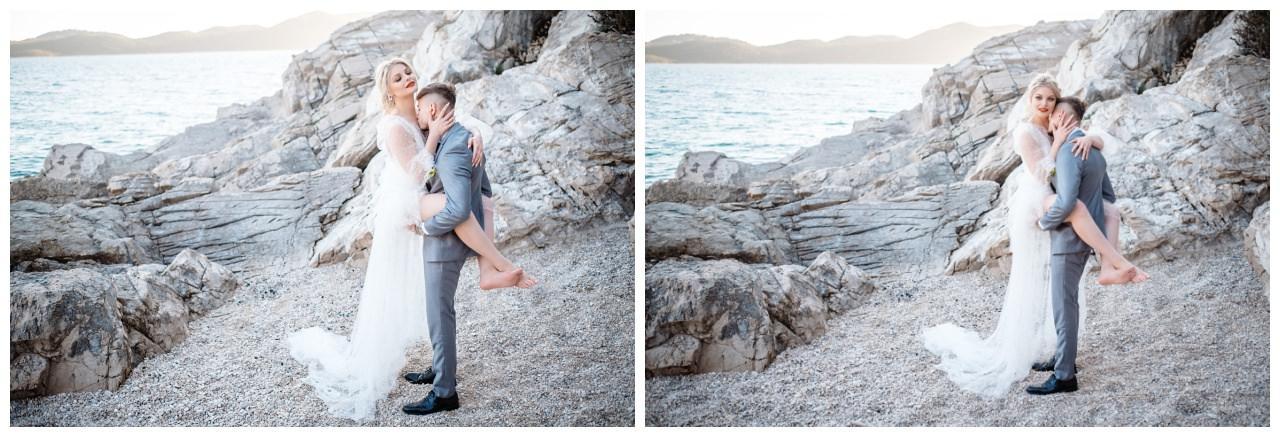 Hochzeit Strand Kroatien Hochzetsplanung Hochzeitsplaner Fotograf 19 - Kleine Hochzeit am Strand