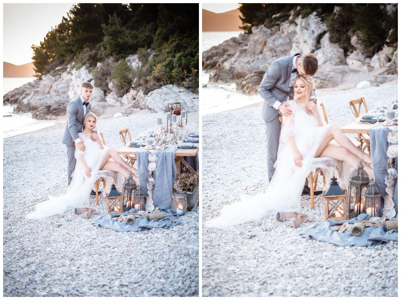Hochzeit Strand Kroatien Hochzetsplanung Hochzeitsplaner Fotograf 2 - Kleine Hochzeit am Strand