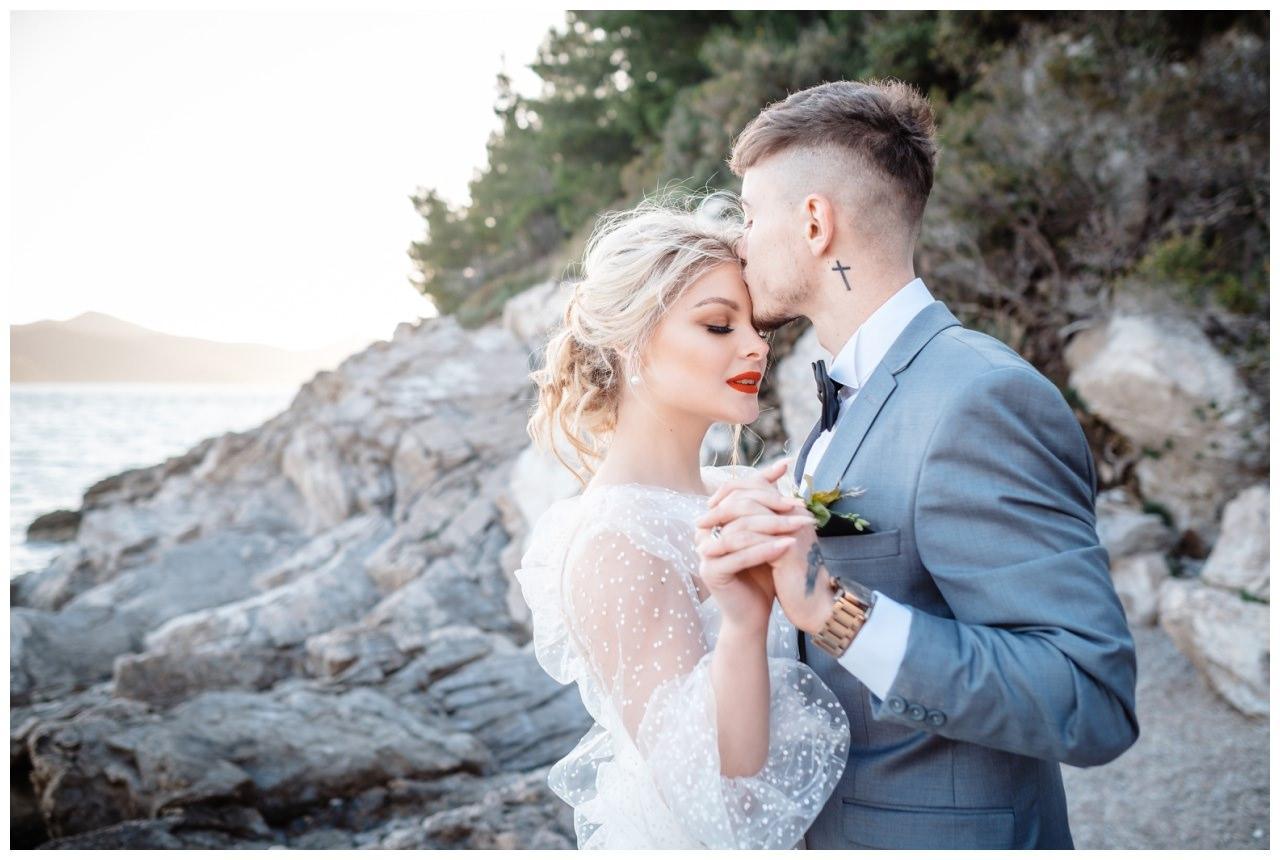 Hochzeit Strand Kroatien Hochzetsplanung Hochzeitsplaner Fotograf 20 - Kleine Hochzeit am Strand
