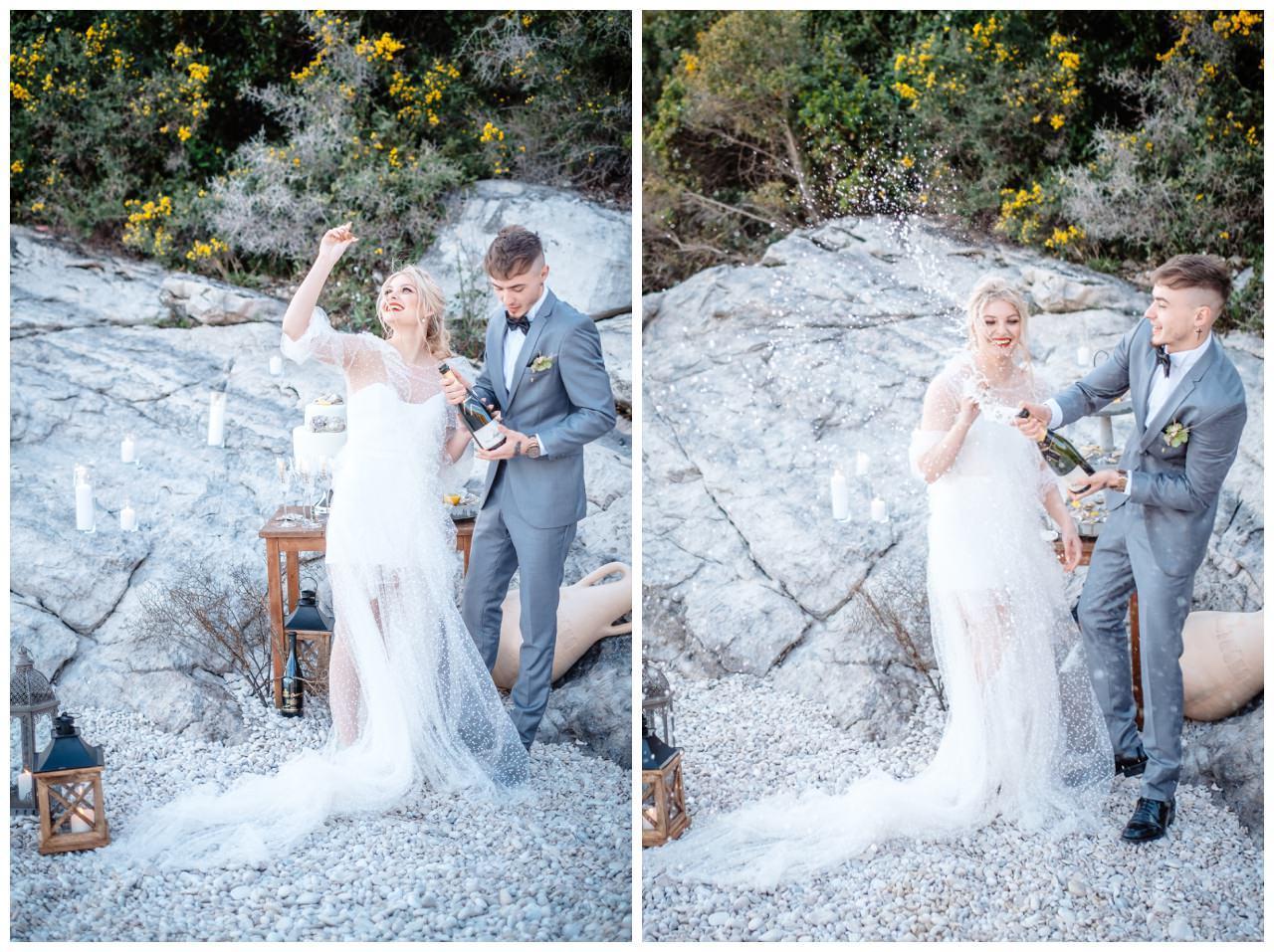 Hochzeit Strand Kroatien Hochzetsplanung Hochzeitsplaner Fotograf 26 - Kleine Hochzeit am Strand