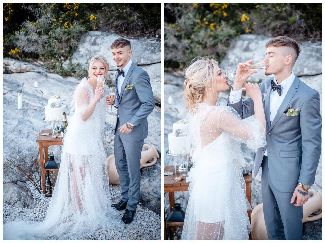 Hochzeit Strand Kroatien Hochzetsplanung Hochzeitsplaner Fotograf 27 - Kleine Hochzeit am Strand
