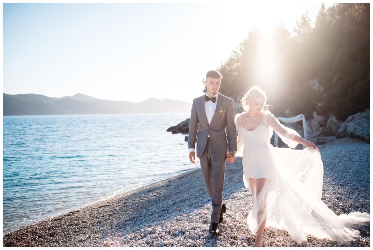 Hochzeit Strand Kroatien Hochzetsplanung Hochzeitsplaner Fotograf 5 - Kleine Hochzeit am Strand