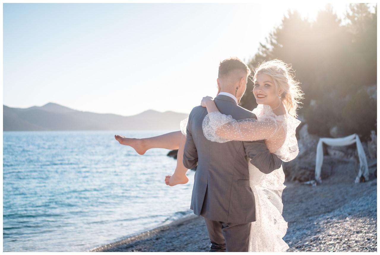 Hochzeit Strand Kroatien Hochzetsplanung Hochzeitsplaner Fotograf 6 - Kleine Hochzeit am Strand