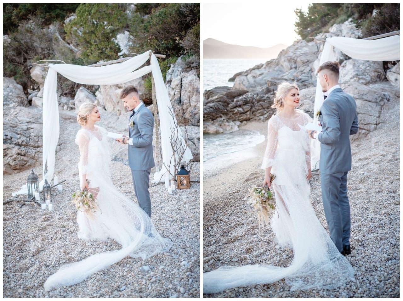 Hochzeit Strand Kroatien Hochzetsplanung Hochzeitsplaner Fotograf 9 - Kleine Hochzeit am Strand