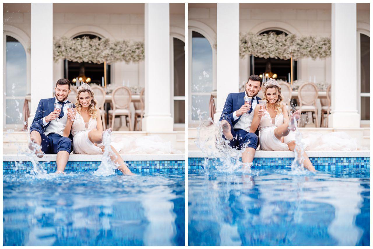 Hochzeit Villa Kroatien Hochzeitsplanung Fotograf 1 - Romantische Hochzeit in einer Villa
